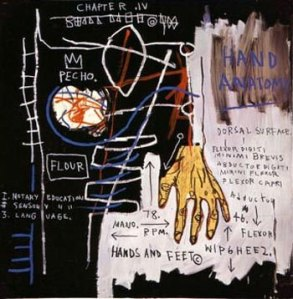Hand-font-b-Anatomy-b-font-Jean-Michel-Basquiat-100-Hand-Painted-Oil-font-b-Painting
