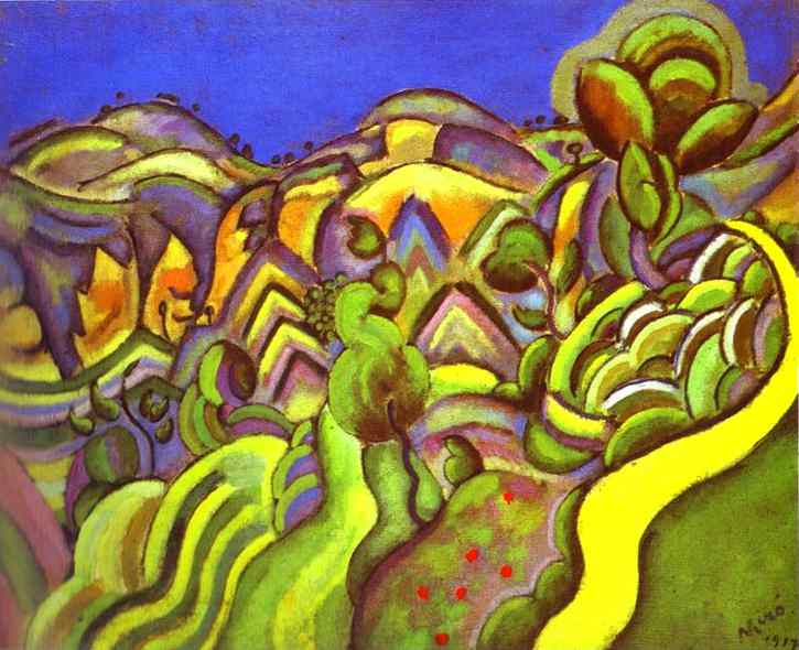 Ciurana, the path, 1917