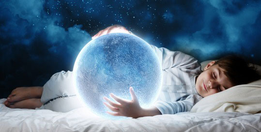 child-dreaming-globe