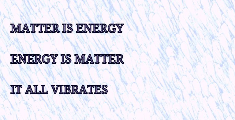 matter ener