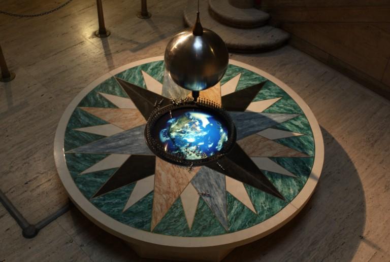 Pendulum foucault