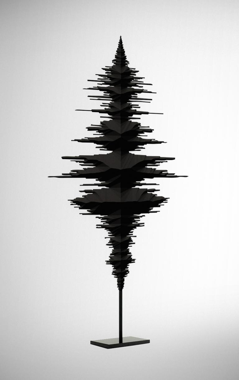 sound wave tree Fabian Burgy